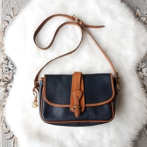 Dooney & Bourke All Weather Leather Equestrian Bag